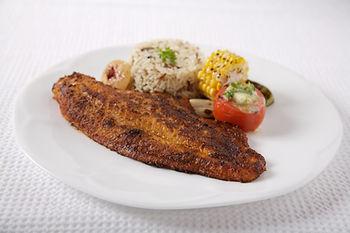 Spicy blackened catfish