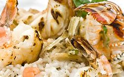 Decadent lobster & shrimp risotto