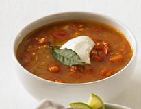 Immune boosting red lentil soup
