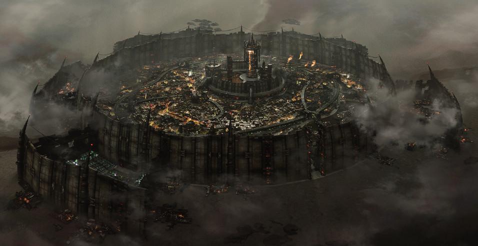 オリジナル都市 昼