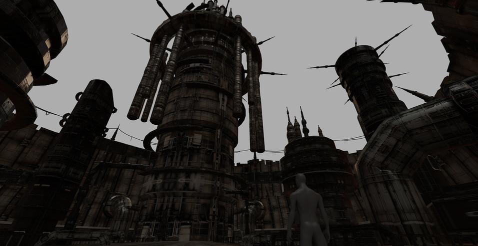 都市内部 宮エリア テクスチャあり
