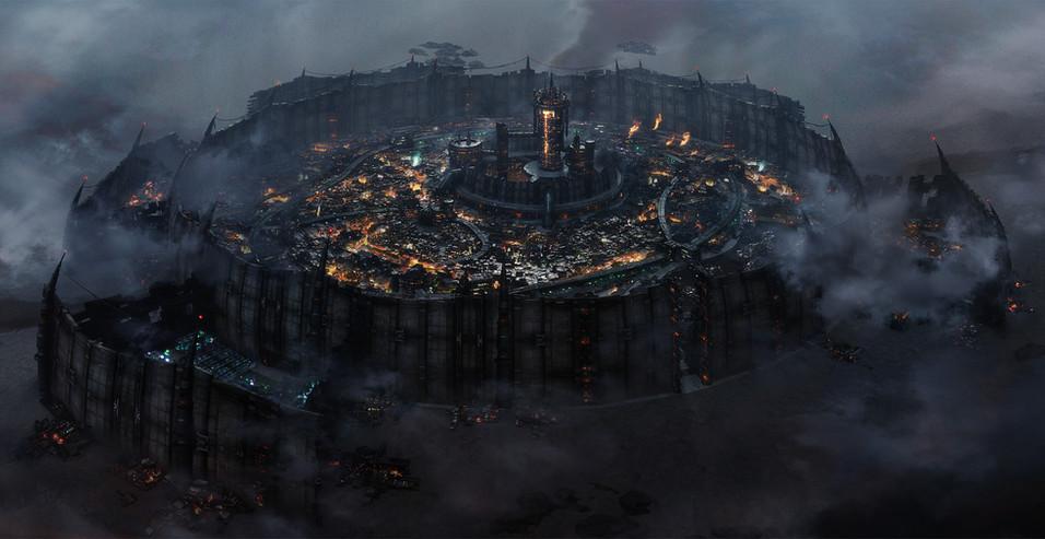 オリジナル都市 夜
