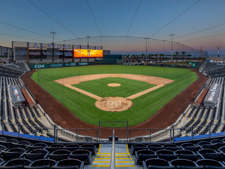 LAS VEGAS BALLPARK® HOSTS HIGH SCHOOL BASEBALL SCRIMMAGE