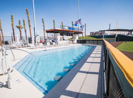 Aviators Fans Soaking Up Pool Experience