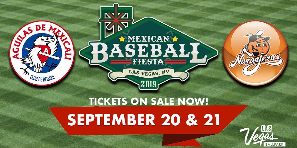 Mexican Baseball Fiesta on Sept. 21st