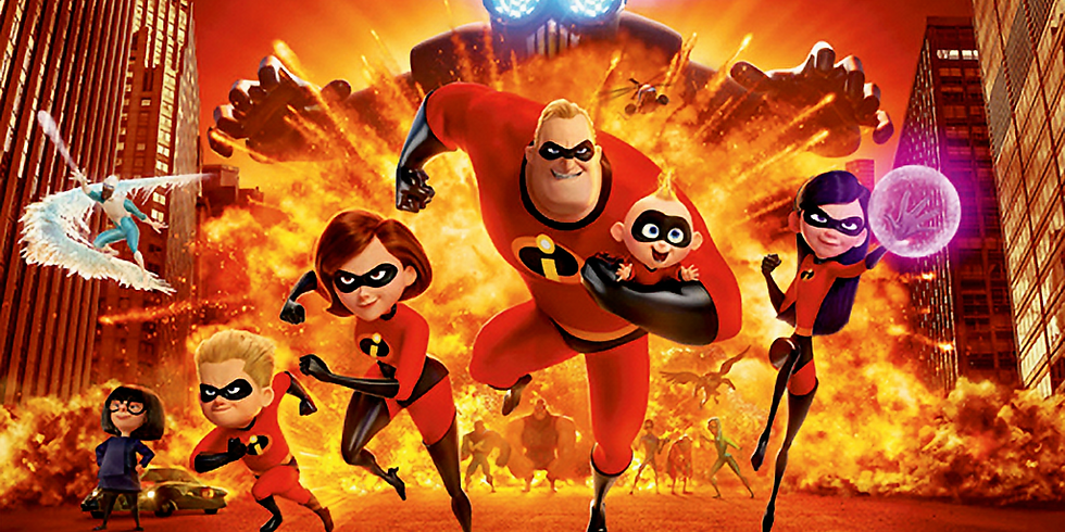 Flicks on the Field: Incredibles 2