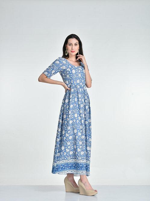 Blue Nakashi Ethnic Dress