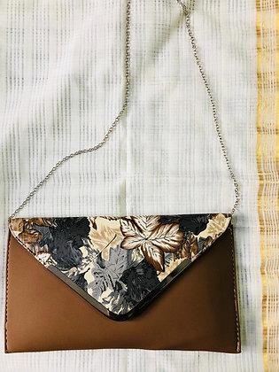 Floral Tan Sling
