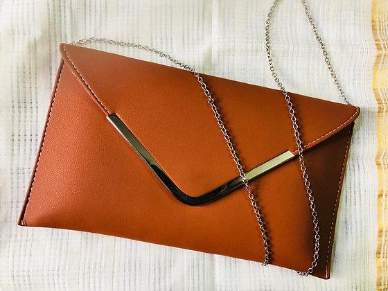 Tan Grace sling bag
