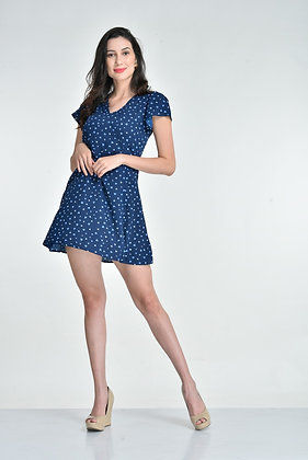 Blue heart dress