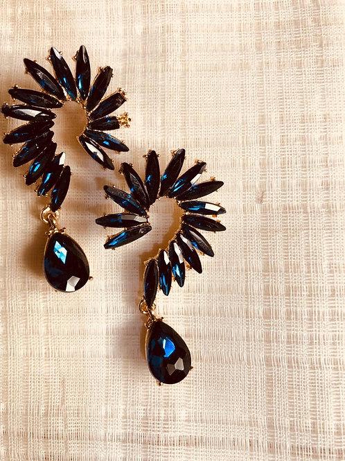 Dragon tail earrings