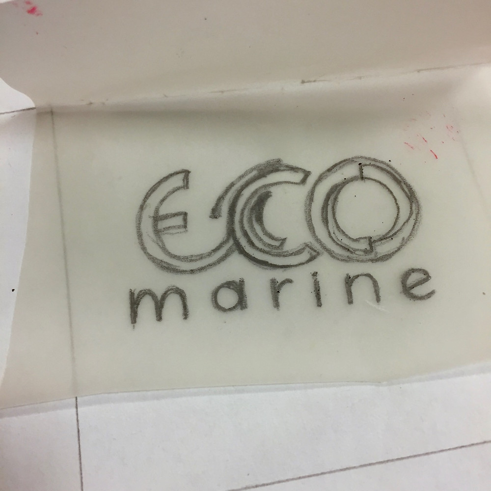 draw or trace logo and letters