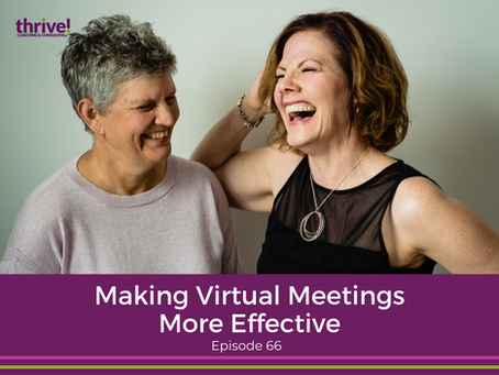 Making Virtual Meetings More Effective