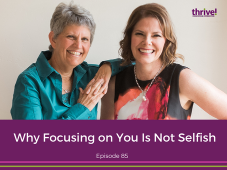 Why Focusing on You Is Not Selfish