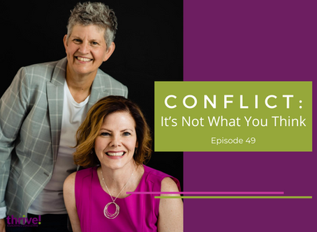 Conflict: It's Not What You Think