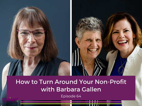 How to Turn Around Your Non-Profit with Barbara Gallen