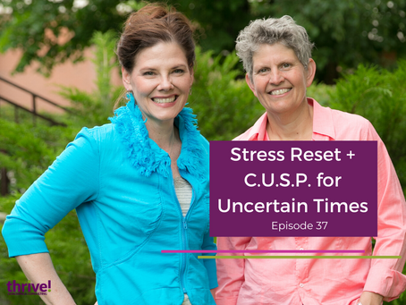 Stress Reset + C.U.S.P. for Uncertain Times