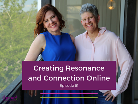 Creating Resonance and Connection Online