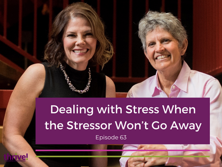 Dealing with Stress When the Stressor Won't Go Away