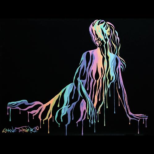 'Psychameleon XIII' Acrylic Painting