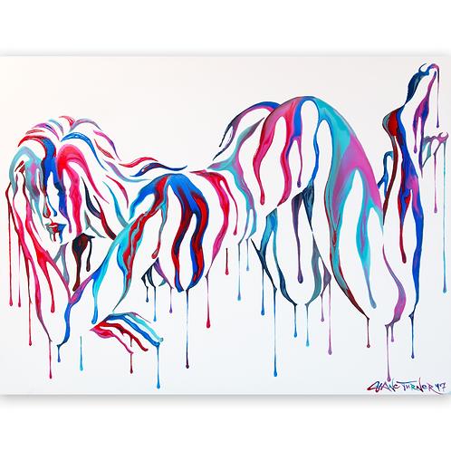 'Psychameleon 8.0' Acrylic Painting