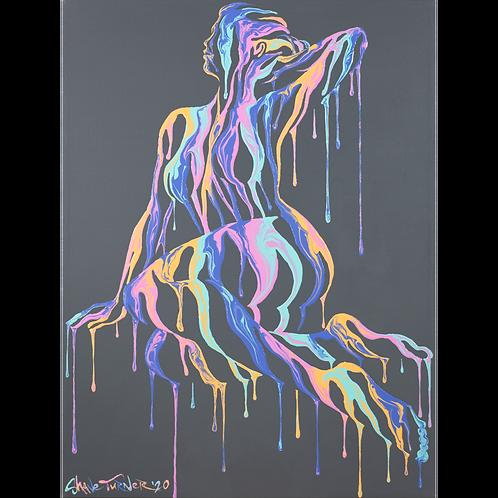 'Psychameleon XII' Acrylic Painting