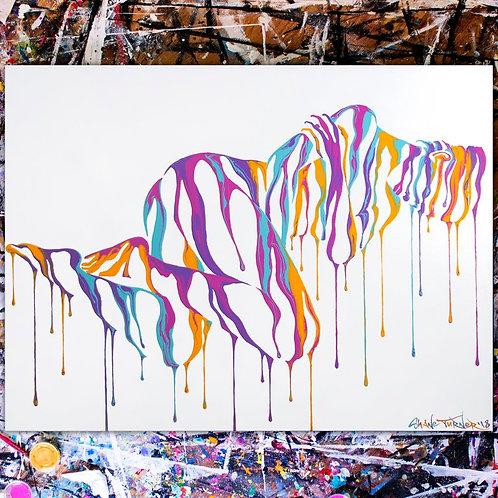 'Psychameleon 10.0' Acrylic Painting