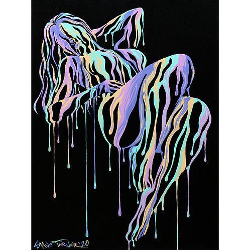 'Psychameleon XIV' Acrylic Painting
