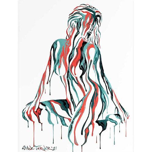 'Psychameleon XVIII' Acrylic Painting