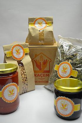 Doğal Mutfak Tanışma Paketi-Tarhan (KAÇEM ORGANİK)