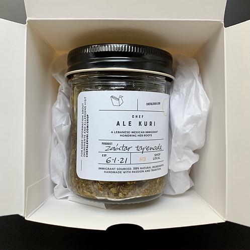 El Abuelo Za'atar Tapenade - Holiday Gift Wrapped (individual box)