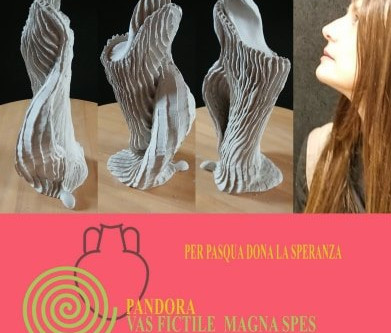 FOR EASTER DONATE HOPE:Pandora ceramic artists together against the COVID-19 epidemic
