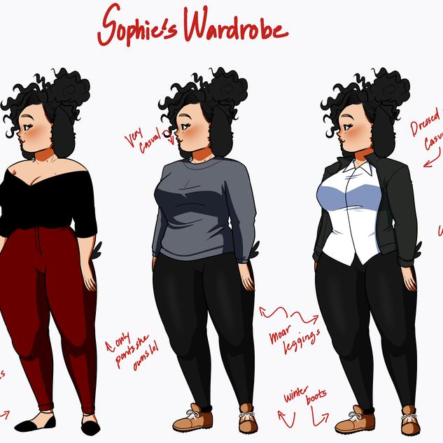 Sophie's wardrobe