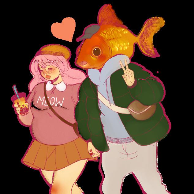 fish boyfriend