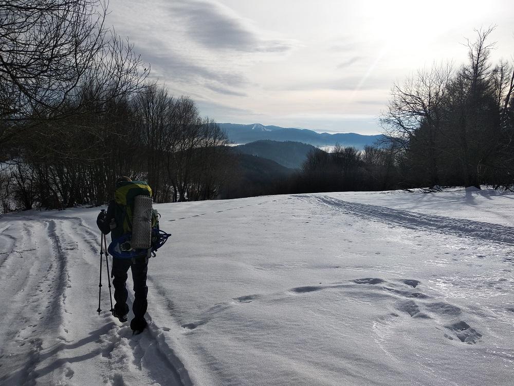 Hřebenovka pohoří Čergov