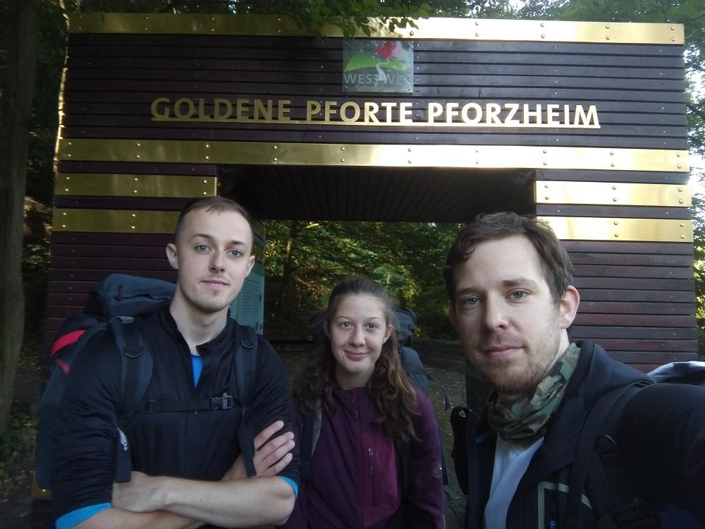 Goldene pforte Pforzheim (první brána)