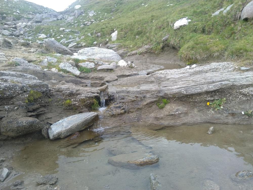 Potok nad Cabana Caraiman