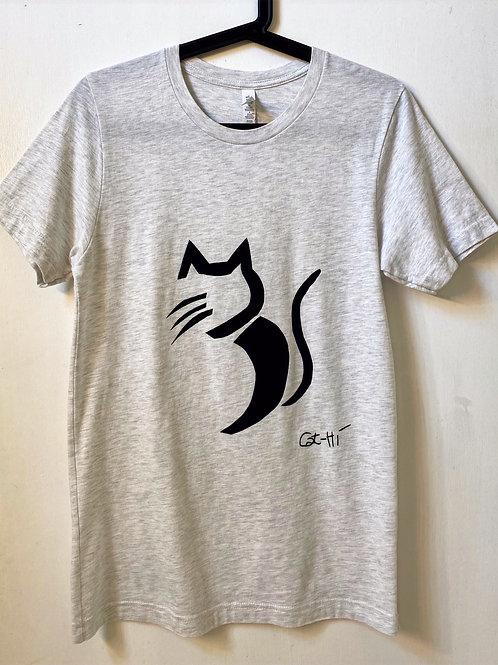 Adult Unisex Cat-Hi Graphic T-Shirt