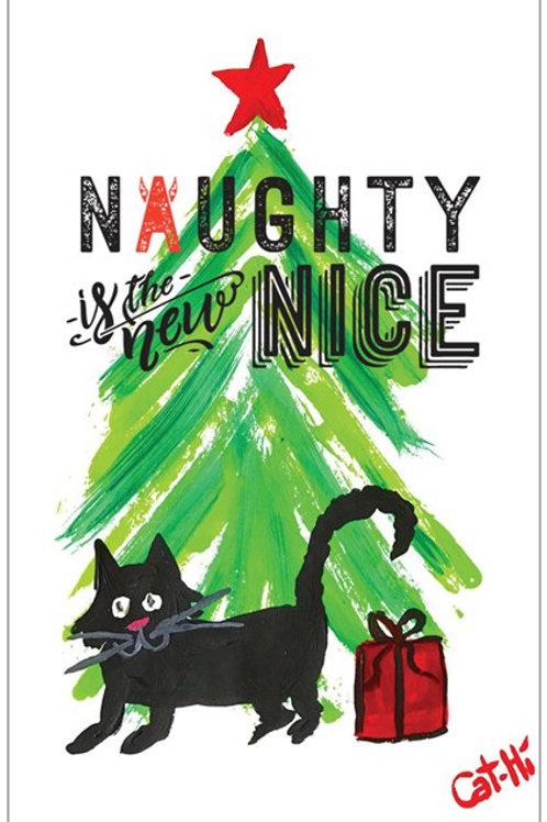 Christmas Card - spray the gift