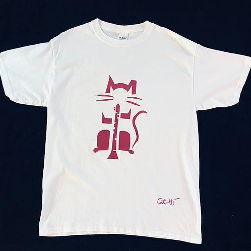 Kids Cat-Hi ClarinetCat T shirt