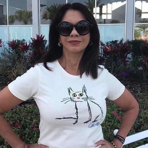 Womens Cat-Hi shirt