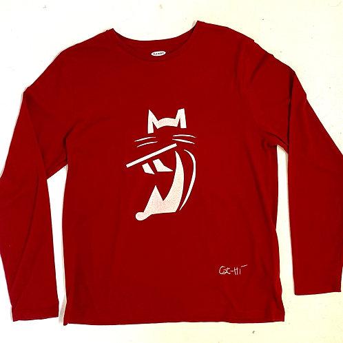 FluteCat Shirt - long sleeve
