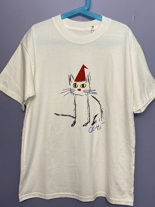Children's SantaCat T shirt