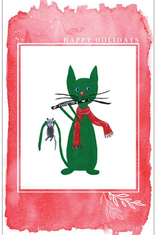 Christmas Card - PiccoloCat
