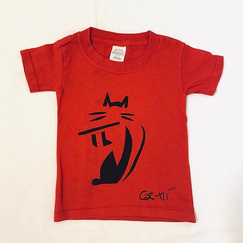 Toddler FluteCat Shirts