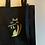 Thumbnail: Deluxe FluteCat tote bag - black
