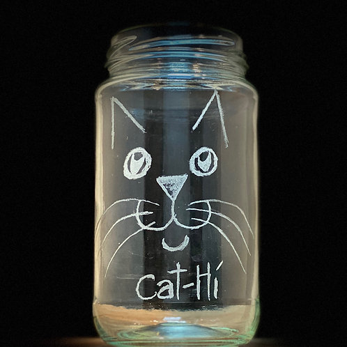 Etched Small Jars