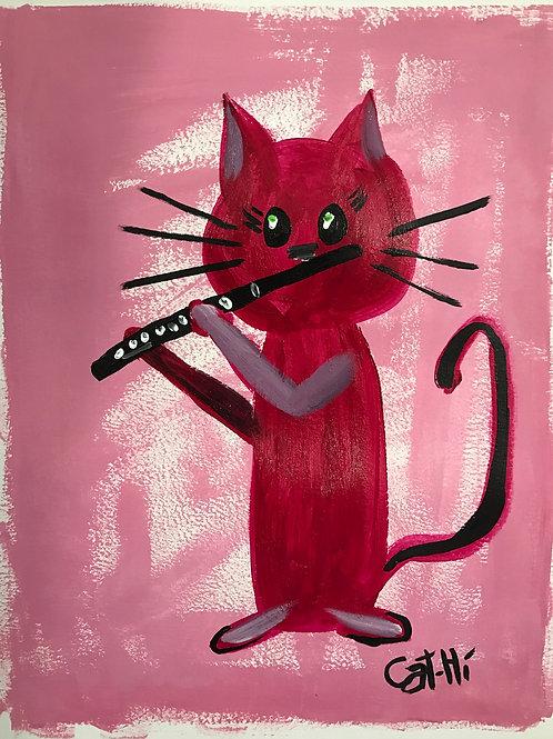 Piccolo Kitty - Print