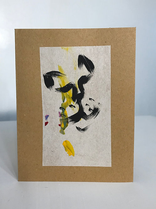 Cat-Hi Handmade Greeting Card
