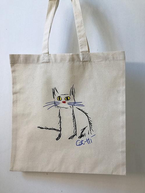 Cat-Hi Totebag